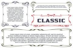 Рекламы, рогулька, приглашения или поздравительные открытки Стоковое Изображение