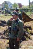 Реконструкция большого войны Стоковые Фотографии RF