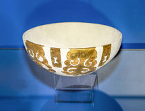 Реконструкция шара украшенного с 4 плитами 4-ое centu Стоковые Фото