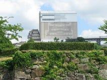 реконструкция himeji замока вниз Стоковая Фотография