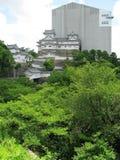 реконструкция himeji замока вниз Стоковые Фотографии RF