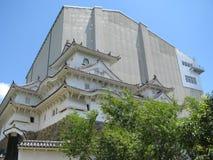 реконструкция himeji замока вниз Стоковое Фото
