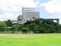 реконструкция himeji замока вниз Стоковая Фотография RF