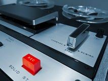 Рекордер палубы ленты вьюрка сетноого-аналогов стерео открытый Стоковое Изображение