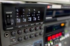 Рекордер vcr передачи стоковые фото