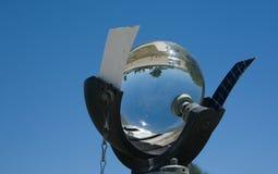 Рекордер солнечности и горящая карточка Стоковые Фото