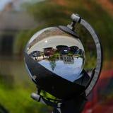 Рекордер солнечности - Campbell†«гладит рукой рекордера стоковая фотография