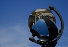 Рекордер солнечности - Campbell†«гладит рукой рекордера стоковое фото