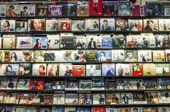 Рекордный магазин стоковое фото rf