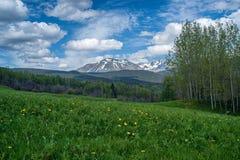 Рекреационная зона горы Babine весной Стоковое Фото