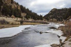 Рекреационная зона каньона Elevenmile весной Стоковые Фото