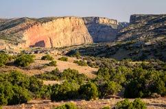 Рекреационная зона соотечественника каньона Bighorn Стоковое Фото