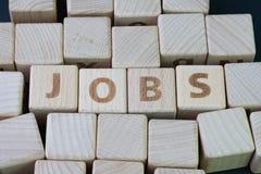 Рекрутство работы, вакансия карьеры или положение рабочего места в compan стоковая фотография rf