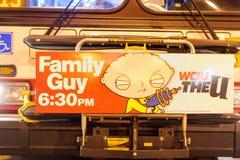 Реклама Гая семьи стоковая фотография rf