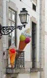 Реклама конуса мороженого Стоковые Фотографии RF