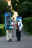 Реклама мобильного телефона Nokia Стоковое Изображение