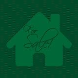 Реклама продажи дома Стоковые Фотографии RF
