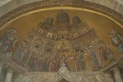 Религиозная мозаика Стоковое фото RF