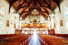 Религиозные часовня или похоронное бюро для похоронных услуг стоковые фотографии rf
