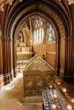 Реликвии Святого Genevieve в парижской часовне Стоковые Изображения