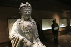 реликвии фарфора Будды исторические Стоковые Фото