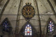 Реликвия страсти Иисуса Христоса в соборе милана, Италии стоковые фотографии rf