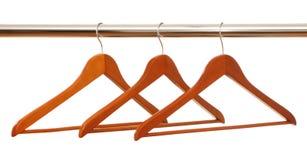 рельс веек одежд Стоковое Фото