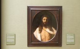 Рембрандт в Alte Pinakothek - Мюнхене Стоковое фото RF