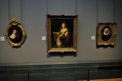 Рембрандт на национальной галерее портрета, Лондон Стоковая Фотография RF