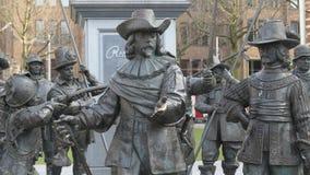 Рембрандт Амстердам Стоковые Фотографии RF