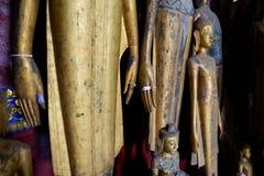 Ремень Luang Prabang Wat Xieng Стоковое фото RF