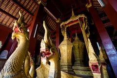 Ремень Luang Prabang Wat Xieng Стоковые Изображения RF