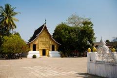 Ремень Luang Prabang Wat Xieng Стоковое Изображение RF