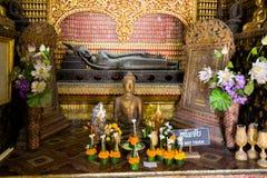 Ремень Luang Prabang Wat Xieng Стоковая Фотография