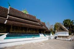 Ремень Luang Prabang Wat Xieng Стоковая Фотография RF