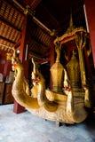 Ремень Luang Prabang Wat Xieng Стоковое Изображение