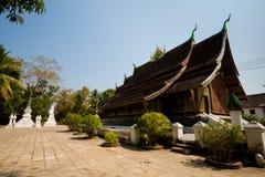 Ремень Luang Prabang Wat Xieng Стоковые Фотографии RF