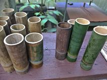 Ремесленничество от бамбука стоковое изображение rf