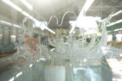 Ремесленничество от стеклянный дуть стоковая фотография rf