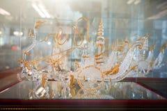 Ремесленничество от стеклянный дуть стоковое изображение rf