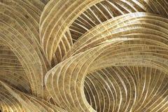 Ремесленничество ротанга украшает дизайн картины стоковая фотография