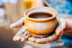 Ремесло гончара и глины Стоковое Фото
