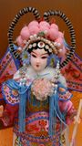 Ремесло куклы традиционное, династия Qing стоковое изображение rf