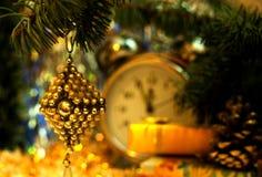 Ремесло советского рождества ретро ручной работы винтажная игрушка от стеклянной бусины Стоковое Фото