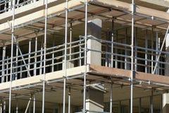 Ремонтина вокруг снаружи нового строения Стоковое Фото
