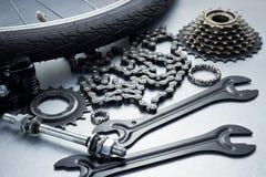 Ремонтировать велосипеда Стоковые Фотографии RF