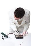 Ремонтировать жёсткий диск Стоковое фото RF