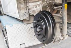 Ремонтировать колеса автомобиля Стоковые Изображения RF