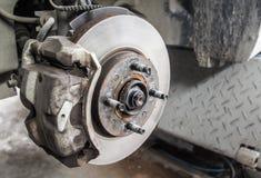 Ремонтировать колеса автомобиля Стоковые Фотографии RF