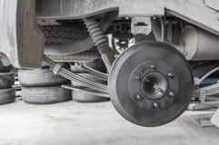 Ремонтировать колеса автомобиля Стоковое Изображение